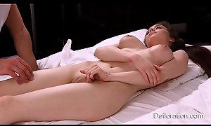 Adventurous Koza Dereza - losing of virginity!