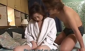 Subtitled inglorious Japanese wife affair confessional