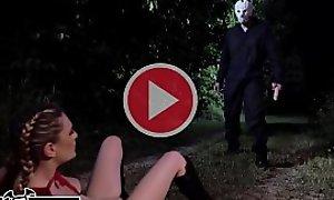 BANGBROS - Kara Lee Encounters Scary Villain Here Eradicate affect Fatherland