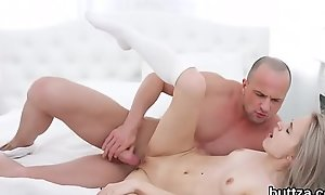 Glamorous victuals hotty receives her wet kitty and small anal crevasse