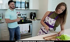 FamilyStrokes - Big Ass Mummy Teases Will not hear of Stepson With an increment of Gets Drilled Hardcore