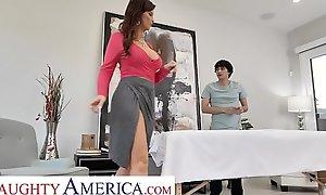 Naughty America - Syren De Mer Fucks her new massagist