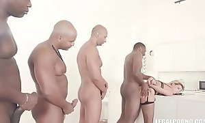 Clementine Marceau comes to get perfidious cock, duplication anal with the addition of hard having it away