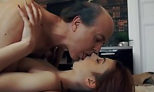 Innocent sweet Teen Swallows and Spits cum check up on Romantic Sex on every side Grandpa