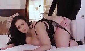 Voluptuous Bbw Anastasia lux fucks married baffle beside their way lingerie