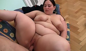 Gaping cancel fur pie therapy for big belly bbw
