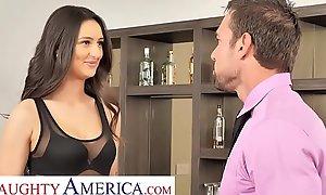 Naughty America - Eliza Ibarra fucks her fond of boss
