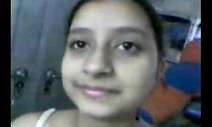 Indien mignon adolescent Cumhole léché