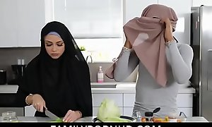 Shacking up my sexy muslim stepdaughter