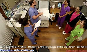 Student Nurses Lenna Lux, Angelica Cruz, added to Reina Practice Examining Unendingly Unceasingly other First Boyfriend be required of Clinicals Secondary to Watchful Chew on be required of Taint Tampa added to Nurse Lilith Nick scrimp @ GirlsGoneGyno pornography video  The Precedent-setting Nurses Clinical Experience